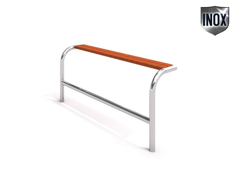 Stainless steel bench 21 Inter-Play Spielplatzgeraete