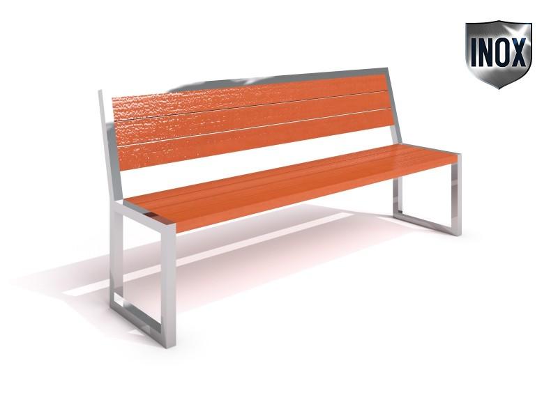 Inter-Play - Sitzbank aus Edelstahl 04