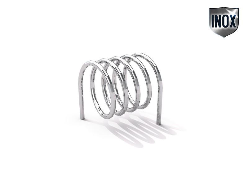 Inter-Play - Fahrradständer aus Edelstahl 10