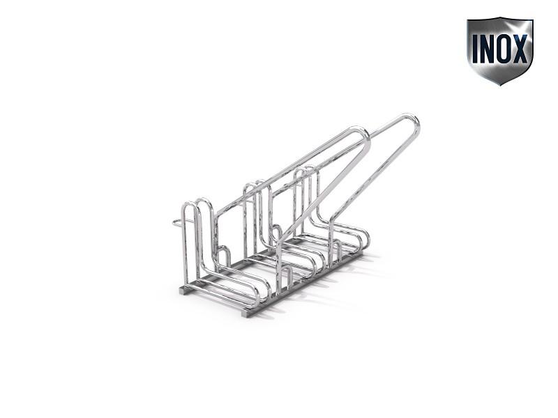 Inter-Play - Fahrradständer aus Edelstahl 15