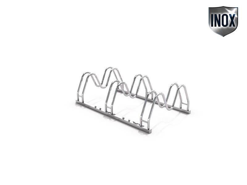 Inter-Play - Fahrradständer aus Edelstahl 16