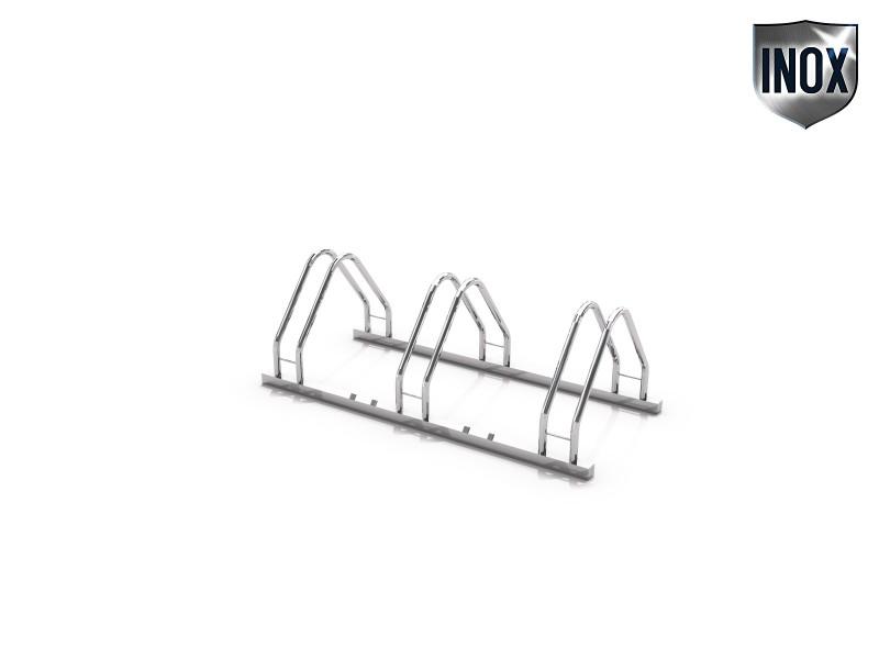 Inter-Play - Fahrradständer aus Edelstahl 17