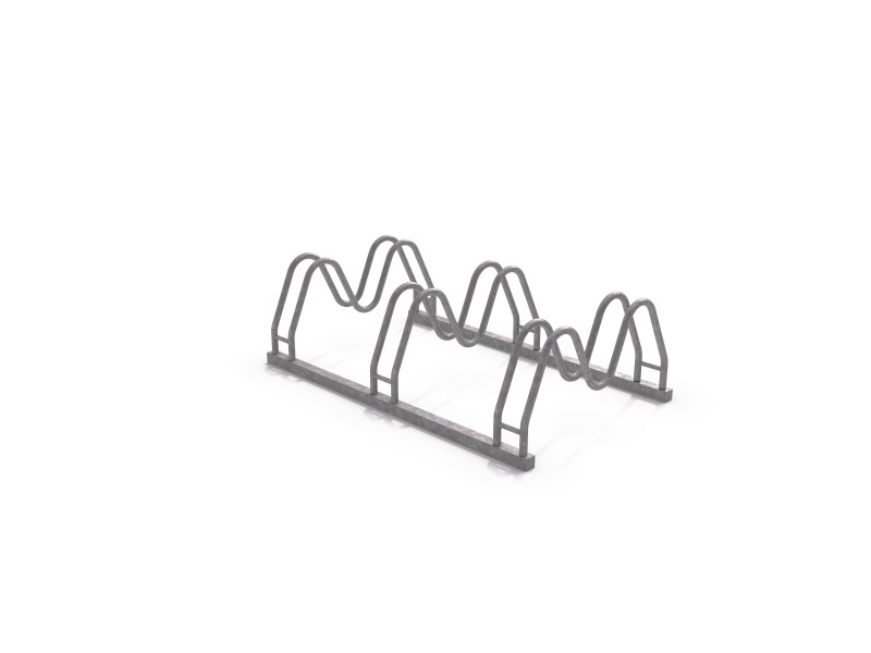 Inter-Play - Stahl Fahrradständer 16