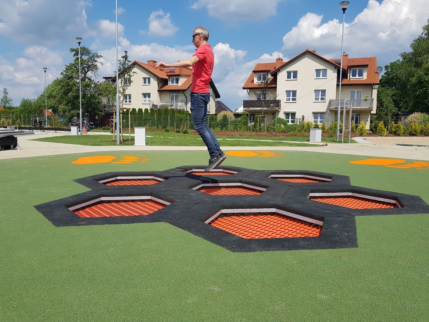 Trampoline Hexo Inter-Play