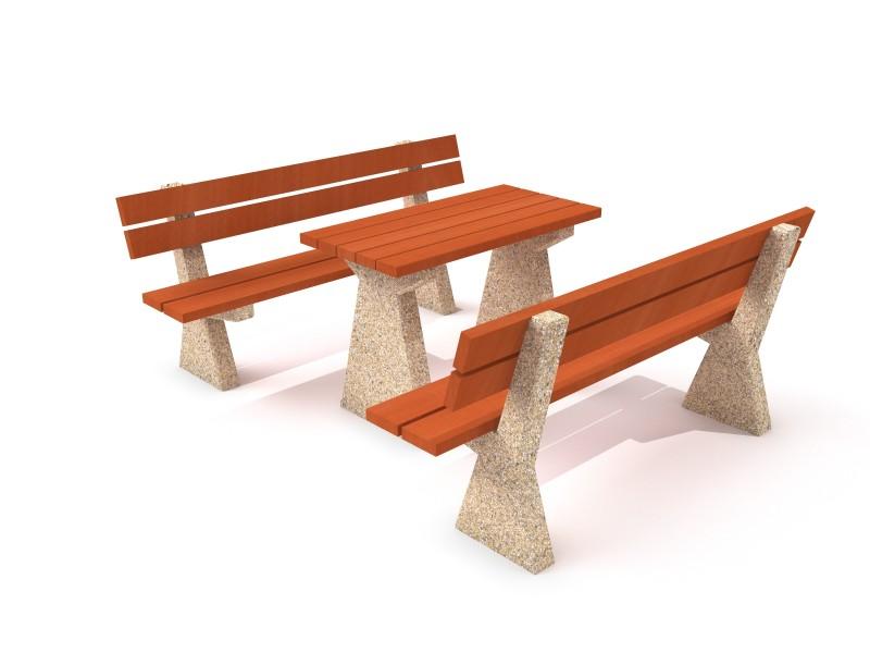 Concrete table 02 Inter-Play Spielplatzgeraete