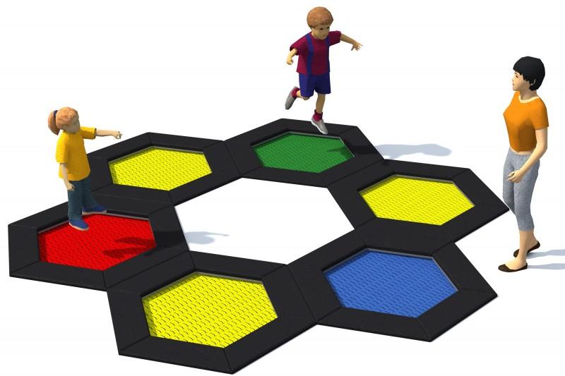 HEXO 6A Inter-Play Spielplatzgeraete
