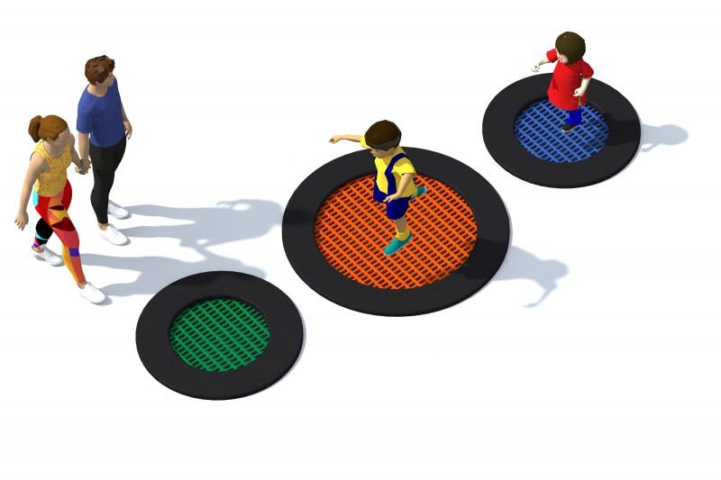 Trampolin Tuto 1 Inter-Play Spielplatzgeraete