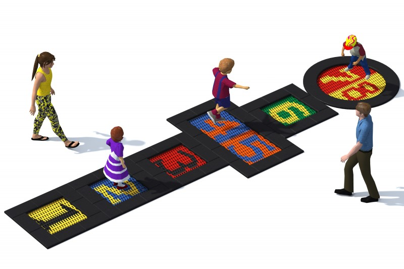 Trampolin Tuto 10 Inter-Play Spielplatzgeraete