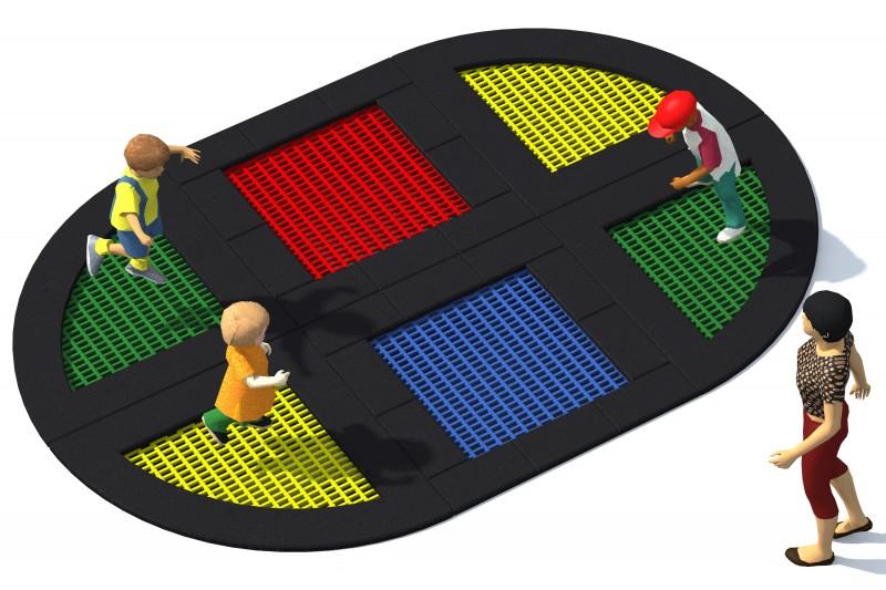 Trampolin Tuto 11 Inter-Play Spielplatzgeraete