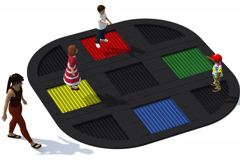 Playground Equipment for sale Trampolin Tuto 11 Professional manufacturer