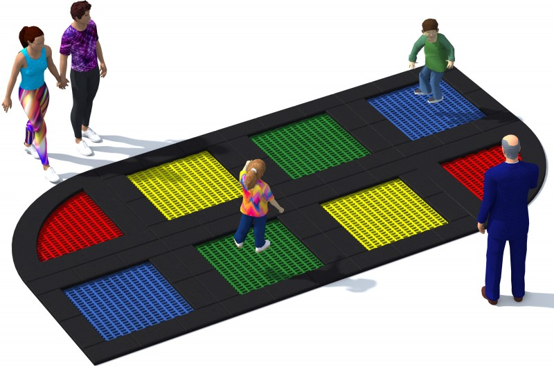 Playground Equipment for sale Trampolin Tuto 14 Professional manufacturer