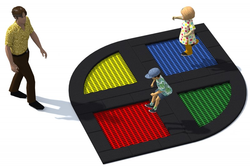Playground Equipment for sale Trampolin Tuto 16 Professional manufacturer