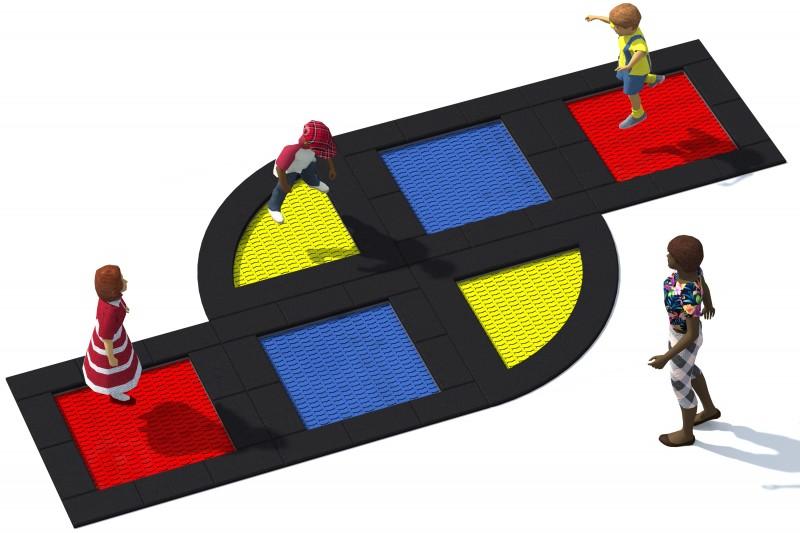 Trampolin Tuto 18 Inter-Play Spielplatzgeraete