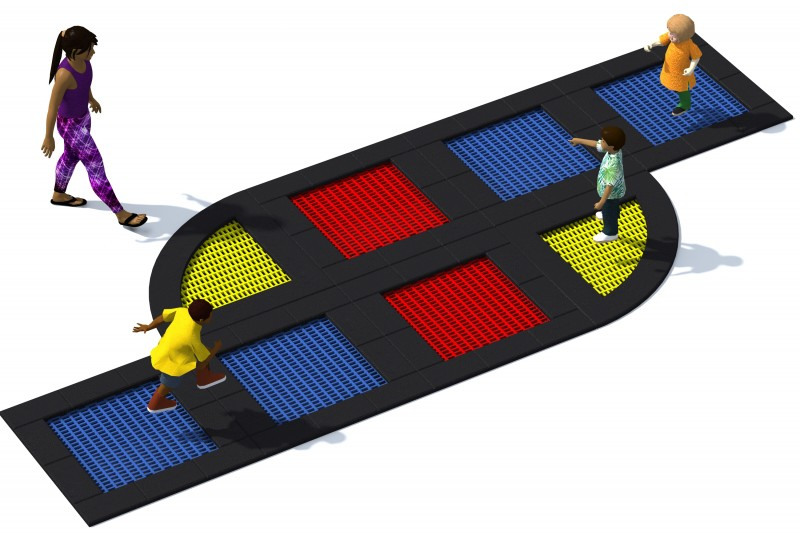 Playground Equipment for sale Trampolin Tuto 18 Professional manufacturer