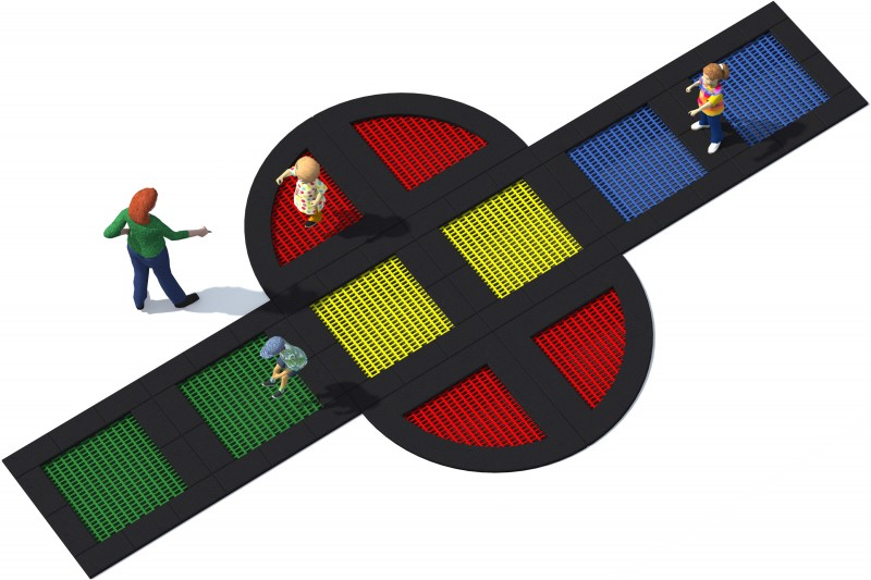 Playground Equipment for sale Trampolin Tuto 20 Professional manufacturer