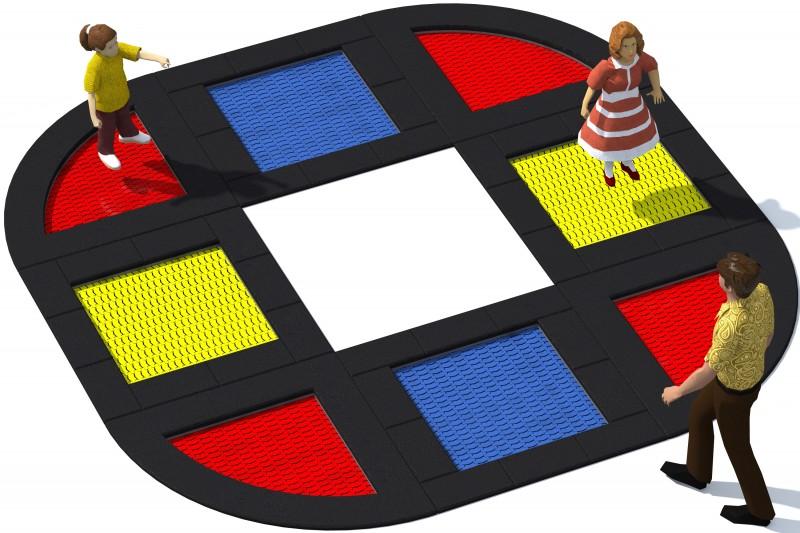 Trampolin Tuto 22 Inter-Play Spielplatzgeraete