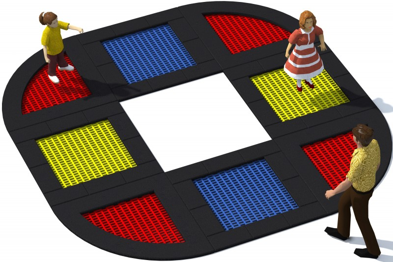 Playground Equipment for sale Trampolin Tuto 21 Professional manufacturer