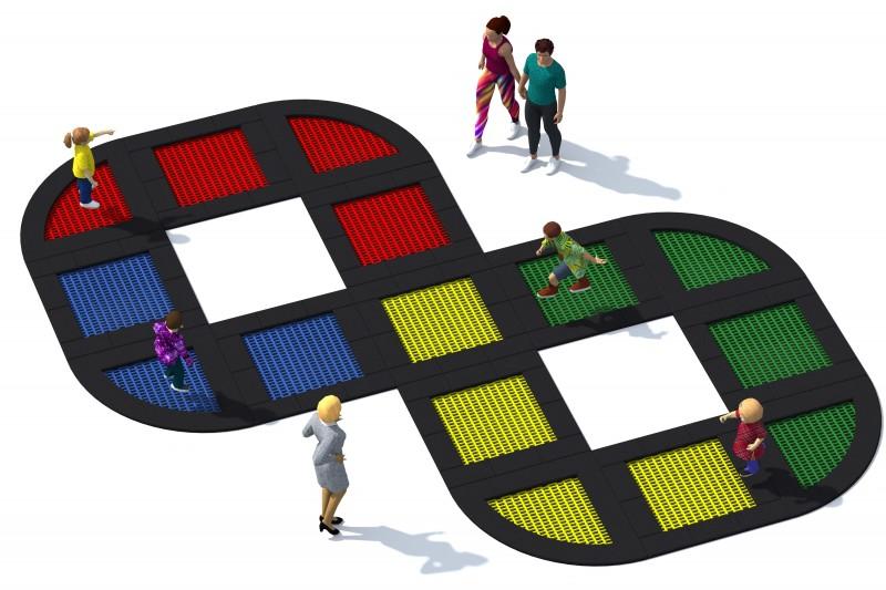 Trampolin Tuto 23 Inter-Play Spielplatzgeraete