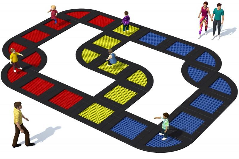 Trampolin Tuto 26 Inter-Play Spielplatzgeraete