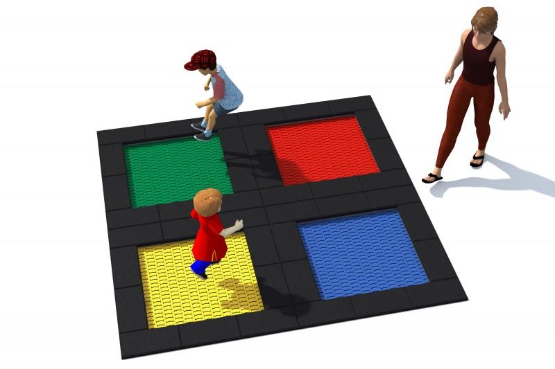 Trampolin Tuto 6 Inter-Play Spielplatzgeraete