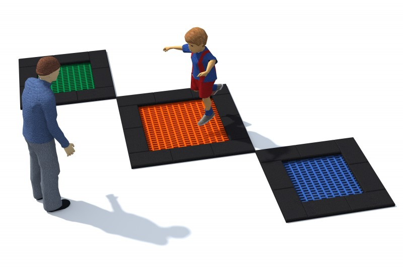 Playground Equipment for sale Trampolin Tuto 8 Professional manufacturer