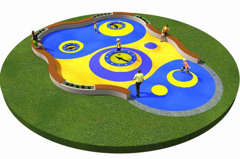 Trampolines  Layout 10 Inter-Play Spielplatzgeraete