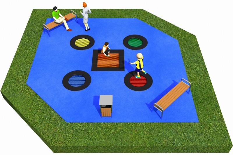 Trampolines  Layout 17 Inter-Play Spielplatzgeraete