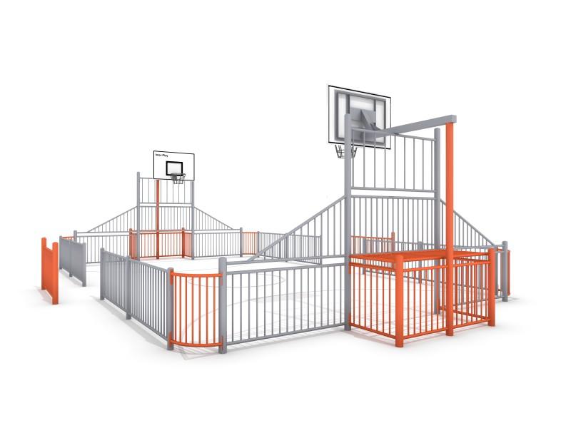 SOCCER  ARENA 1 (11x7m) Inter-Play Spielplatzgeraete