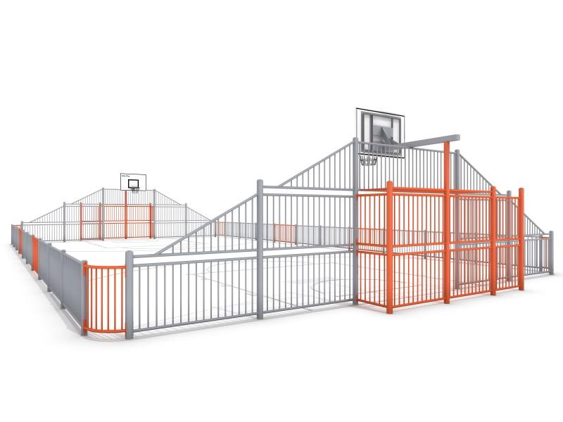 SOCCER  ARENA 3 (21x12m) Inter-Play Spielplatzgeraete