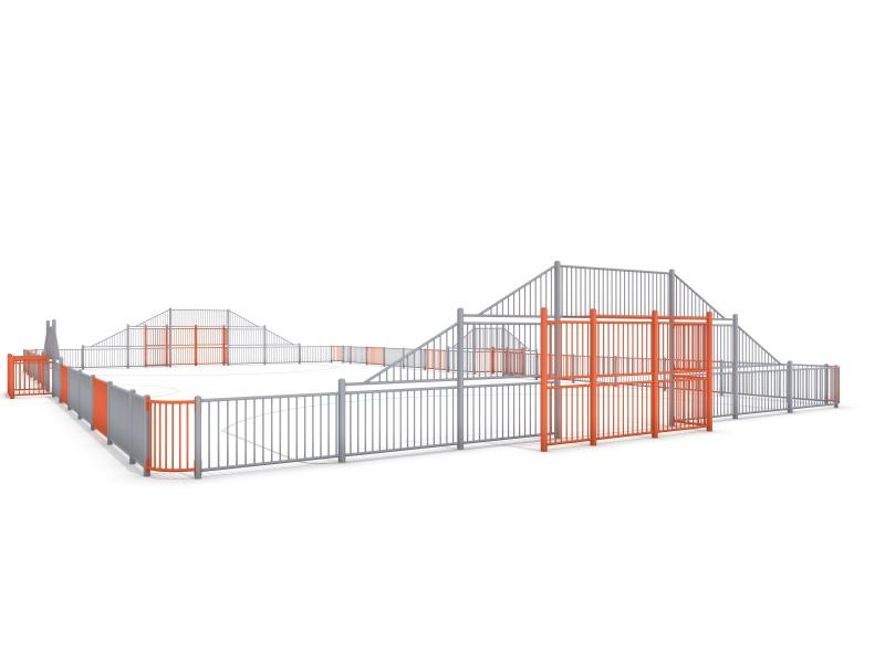 Fußball ARENA 5a (29x16m) Inter-Play Spielplatzgeraete