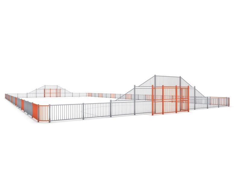 SOCCER  ARENA 6 (39x20m) Inter-Play Spielplatzgeraete