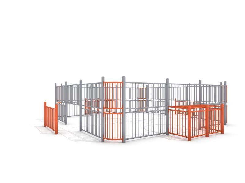 SOCCER COURT 1 (7x7m) Inter-Play Spielplatzgeraete