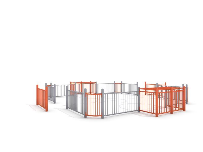 SOCCER COURT 2 (7x7m) Inter-Play Spielplatzgeraete