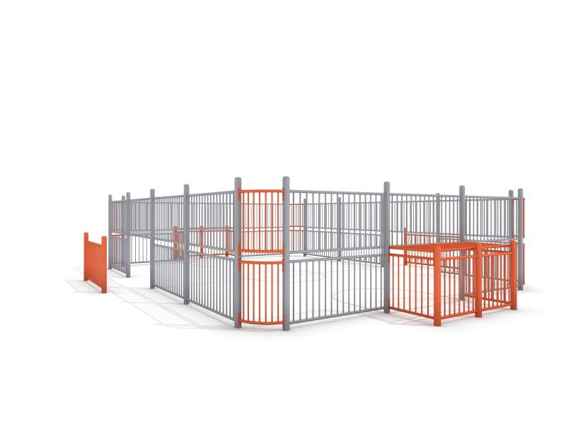 SOCCER COURT 3 (9x7m) Inter-Play Spielplatzgeraete