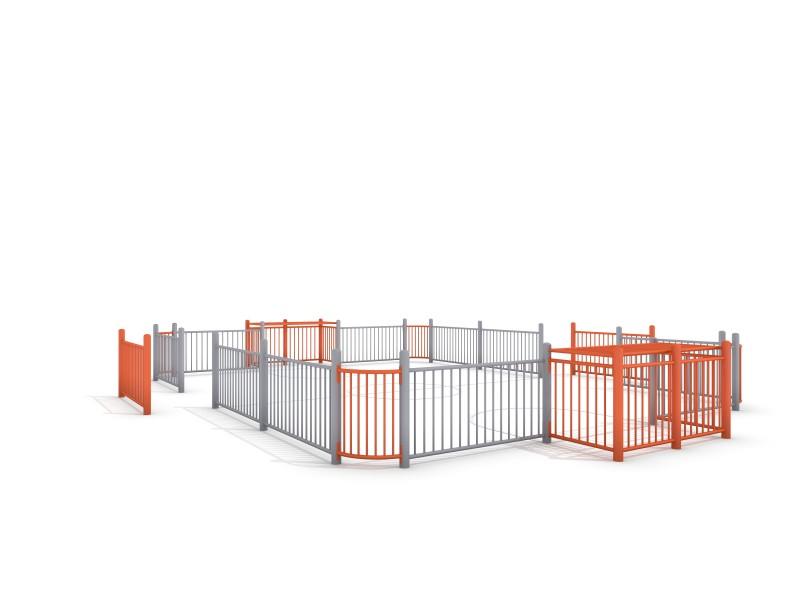 SOCCER COURT 4 (9x7m) Inter-Play Spielplatzgeraete