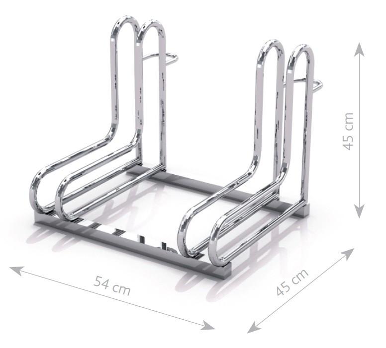 Stahl Fahrradständer 18 Inter-Play Spielplatzgeraete