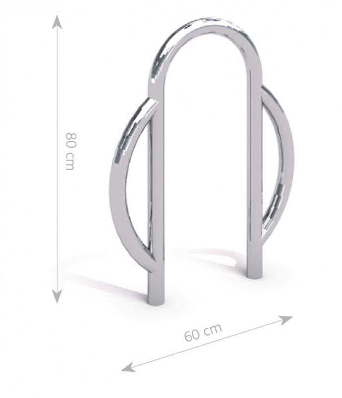 Stahl Fahrradständer 08 Inter-Play Spielplatzgeraete