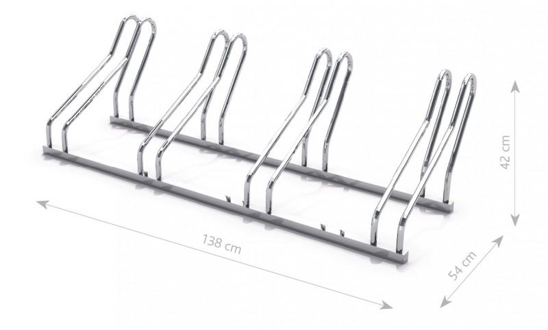 Stahl Fahrradständer 21 Inter-Play Spielplatzgeraete