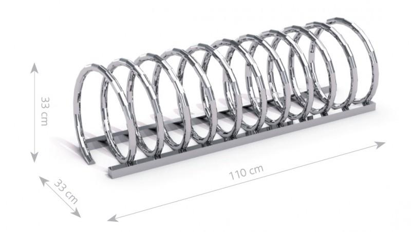 Stahl Fahrradständer 13 Inter-Play Spielplatzgeraete