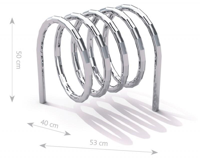 Stahl Fahrradständer-10 Inter-Play Spielplatzgeraete