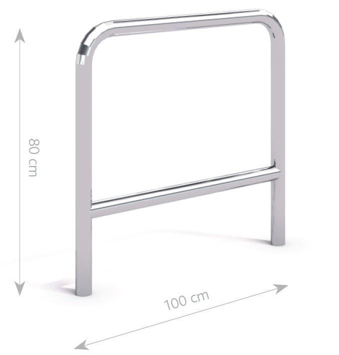 Stahl Fahrradständer 30 Inter-Play Spielplatzgeraete