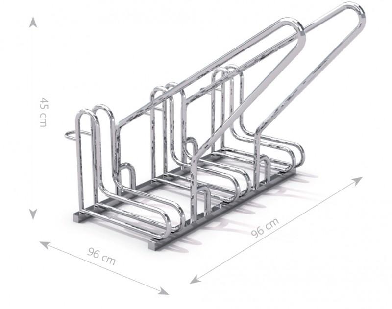 Stahl Fahrradständer 15 Inter-Play Spielplatzgeraete