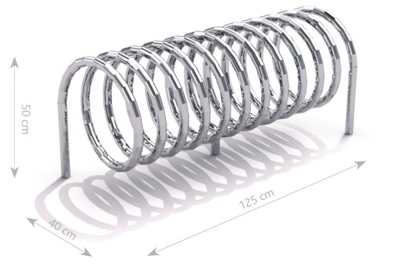 Stahl Fahrradständer 11 Inter-Play Spielplatzgeraete