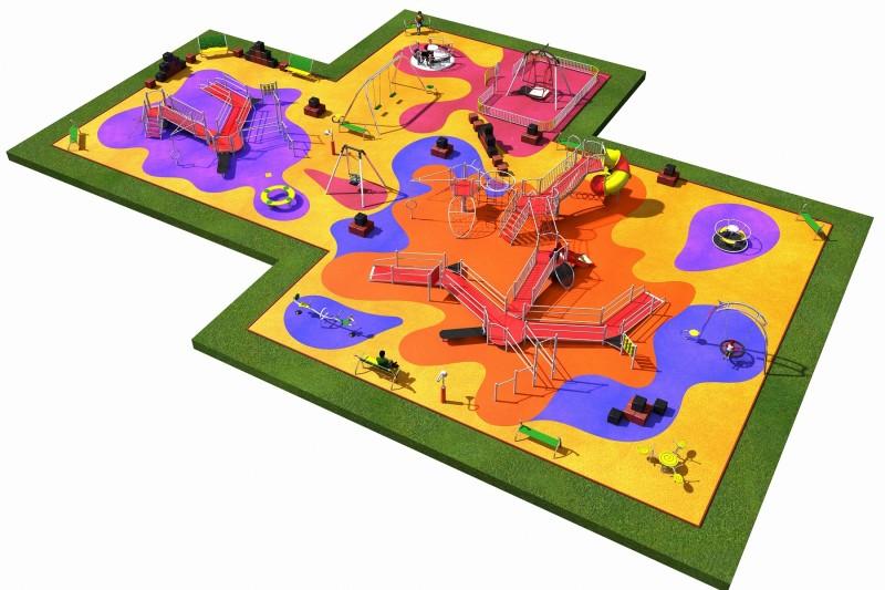 INTEGRADO layout 5 Inter-Play Spielplatzgeraete