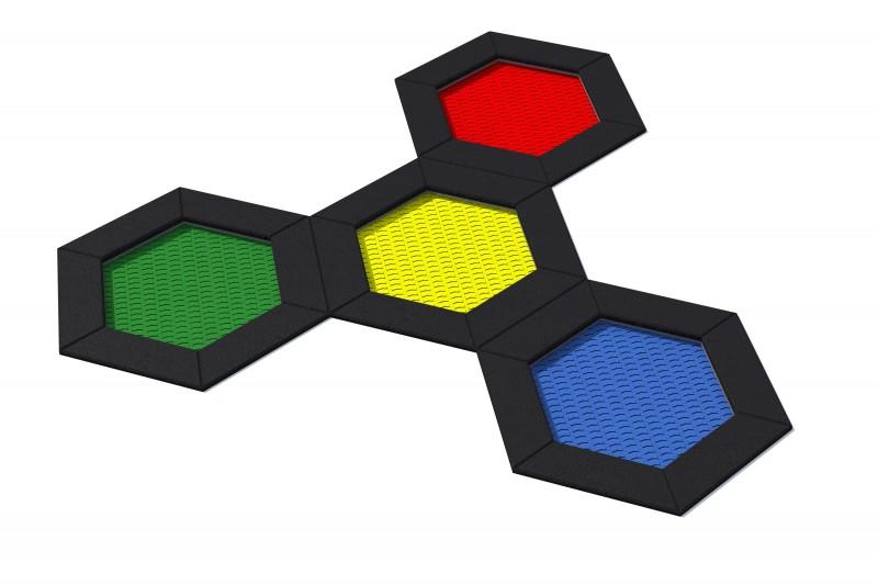 HEXO 4B Inter-Play Spielplatzgeraete
